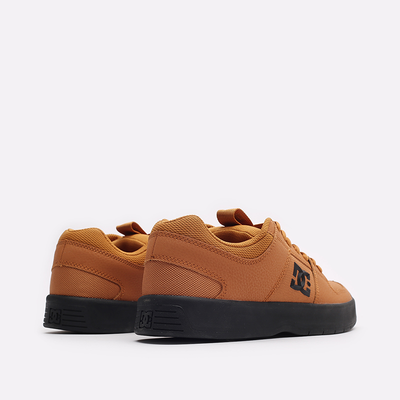 мужские коричневые кроссовки DC SHOES Lynx Zero ADYS100615-wea-wea - цена, описание, фото 3