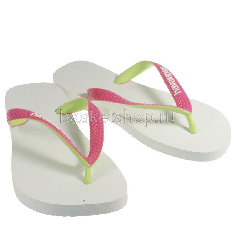 белые, розовые, зеленые  сланцы top mix 4115549-0001 - цена, описание, фото 1