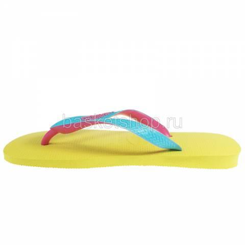 желтые, розовые, голубые  сланцы top mix 4115549-2197 - цена, описание, фото 2
