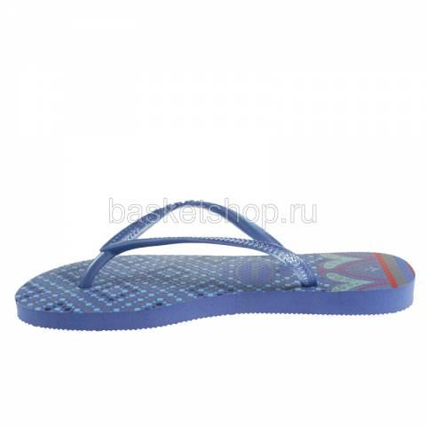 голубые, сиреневые  сланцы slim prisma 4119519-0068 - цена, описание, фото 2