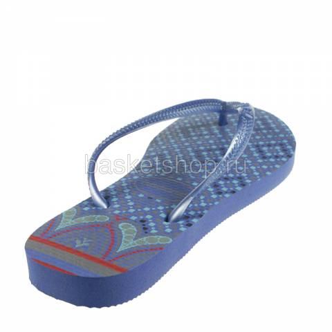 голубые, сиреневые  сланцы slim prisma 4119519-0068 - цена, описание, фото 3