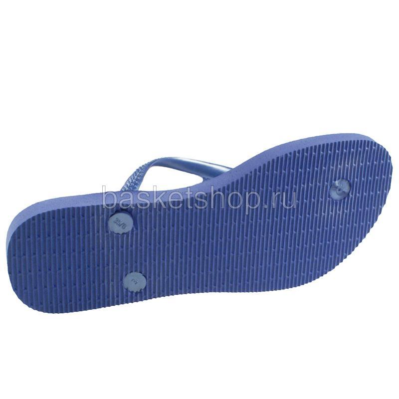 голубые, сиреневые  сланцы slim prisma 4119519-0068 - цена, описание, фото 4