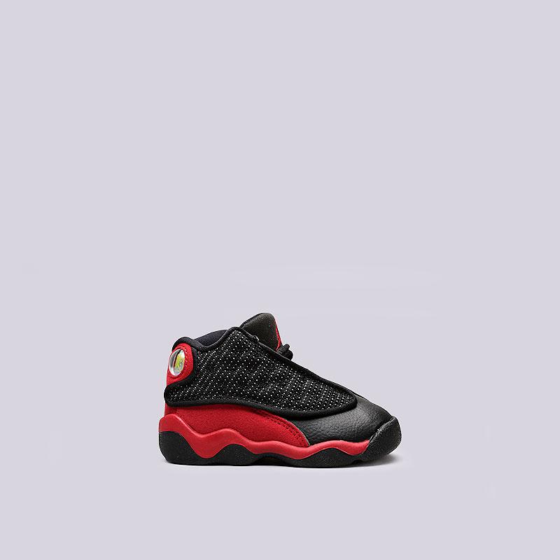 Кроссовки Jordan XIII Retro BTОбувь детская<br>Текстиль, синтетика, резина<br><br>Цвет: Черный, красный<br>Размеры US: 7C;8C;5C;6C<br>Пол: Детский