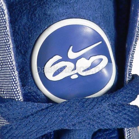 женский синий, белый  wmns balsa mid 415219-401 - цена, описание, фото 2