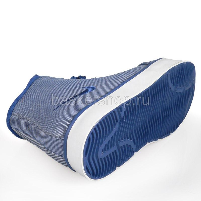 женский синий, белый  wmns balsa mid 415219-401 - цена, описание, фото 5