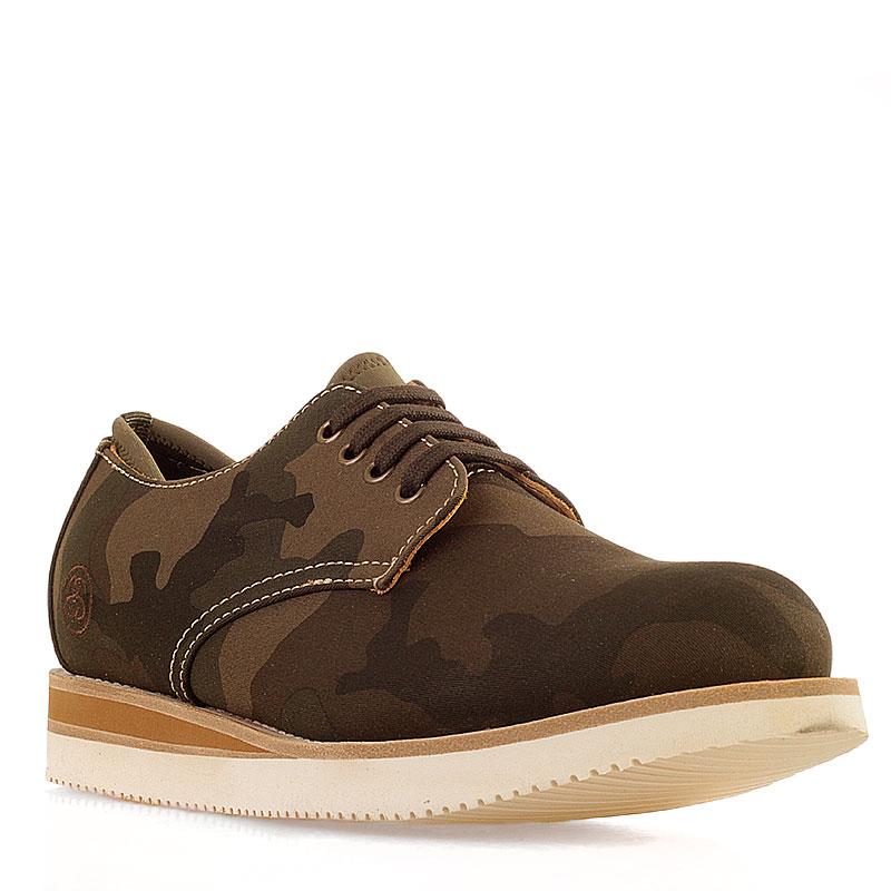Ботинки StussyБотинки<br>текстиль, кожа, резина<br><br>Цвет: болотный<br>Размеры US: 8<br>Пол: Мужской