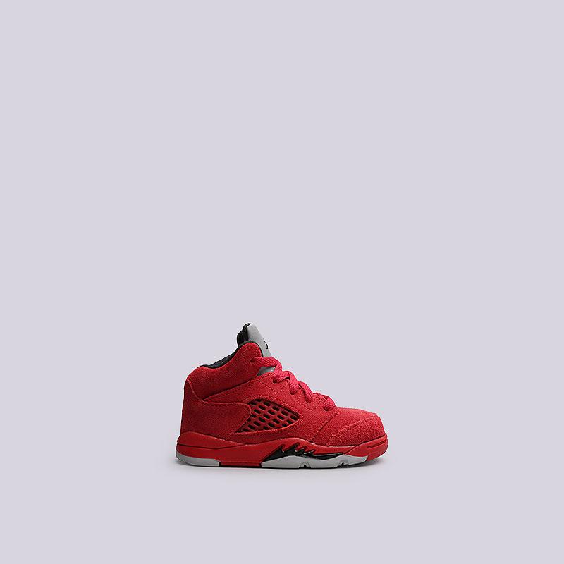 Кроссовки Jordan V Retro BTОбувь детская<br>Кожа, текстиль, резина<br><br>Цвет: Красный<br>Размеры US: 5C;6C<br>Пол: Детский