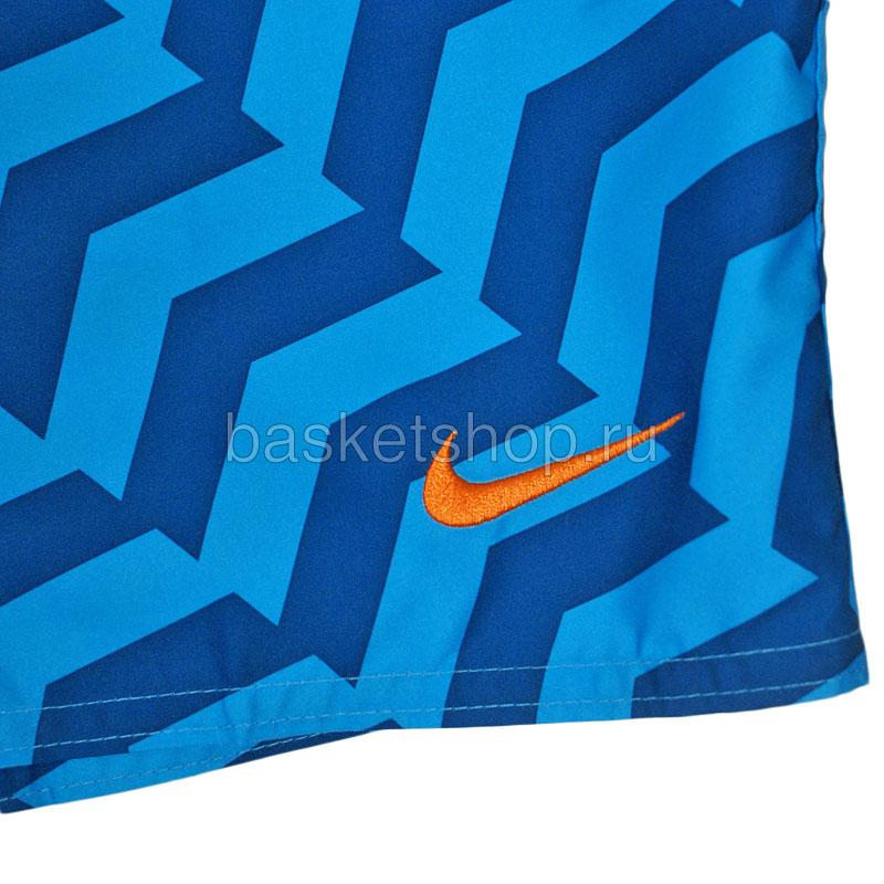 мужские синие  шорты hybrid boardshort 450671-420 - цена, описание, фото 2
