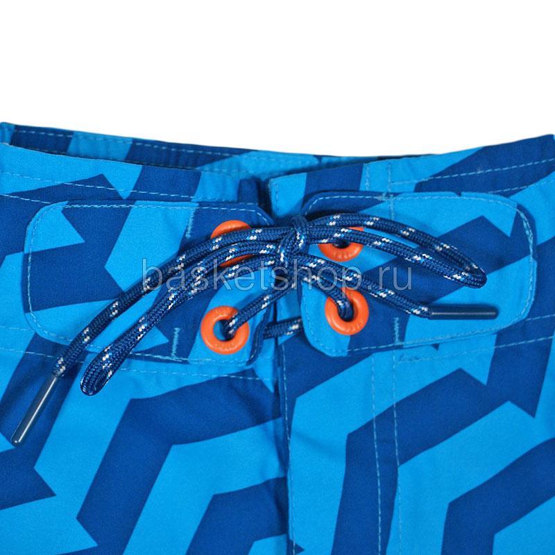 мужские синие  шорты hybrid boardshort 450671-420 - цена, описание, фото 3