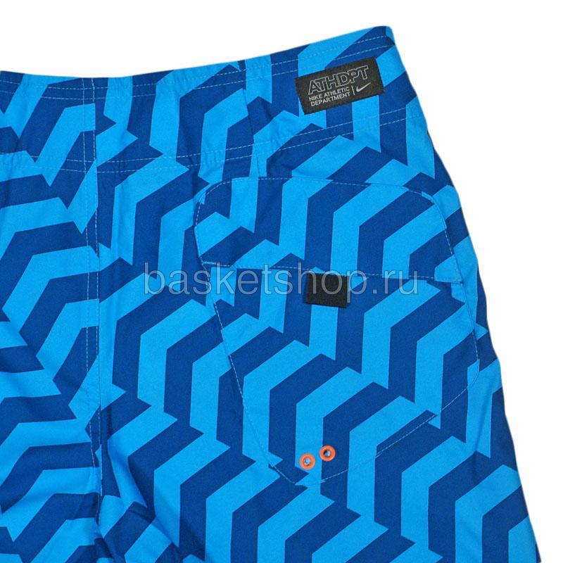 мужские синие  шорты hybrid boardshort 450671-420 - цена, описание, фото 4