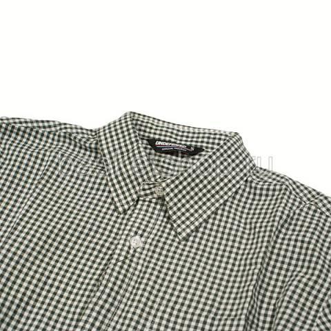 Купить мужскую зеленую, белую  рубашку в магазинах Streetball - изображение 2 картинки