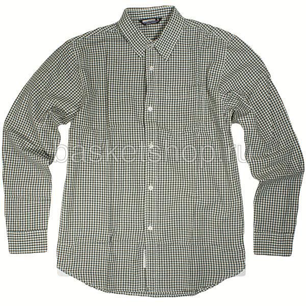 Купить мужскую зеленую, белую  рубашку в магазинах Streetball изображение - 1 картинки