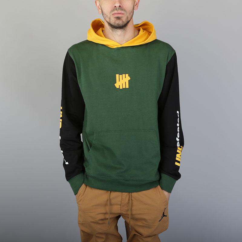 Толстовка Undftd Session LS PulloverТолстовки свитера<br>Хлопок<br><br>Цвет: Зелёный<br>Размеры US: S;M;XL<br>Пол: Мужской