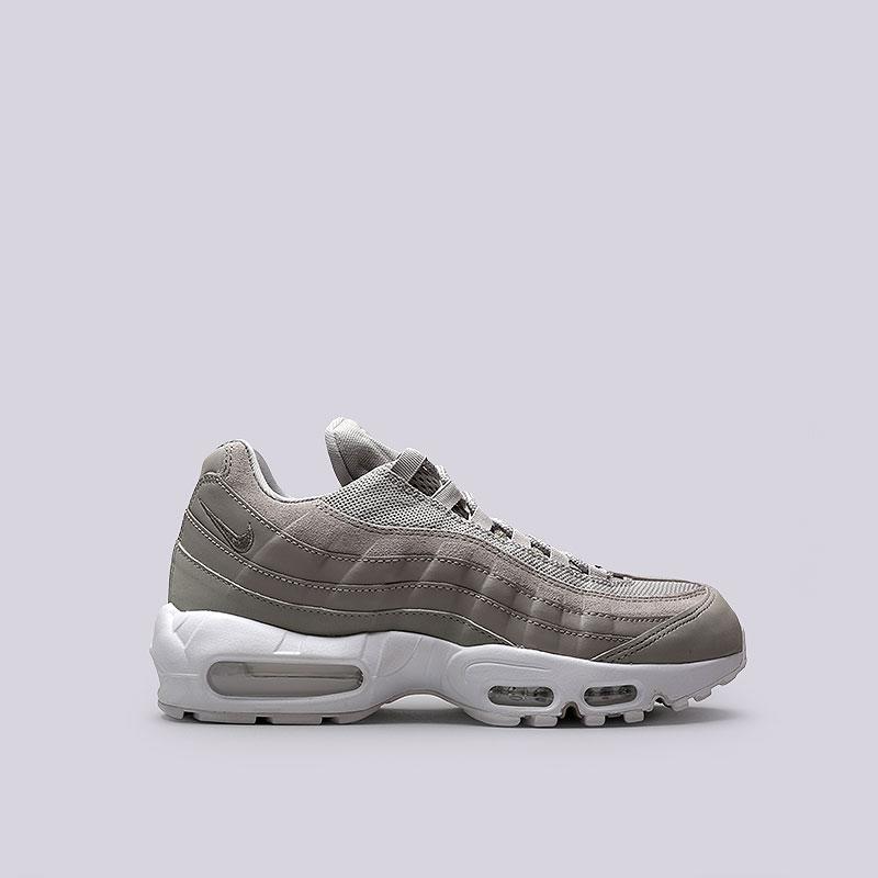 Кроссовки Nike Air Max 95 PRMКроссовки lifestyle<br>Кожа, синтетика, текстиль, резина, пластик<br><br>Цвет: Серый<br>Размеры US: 8;8.5;9;9.5;10;10.5;11;11.5<br>Пол: Мужской