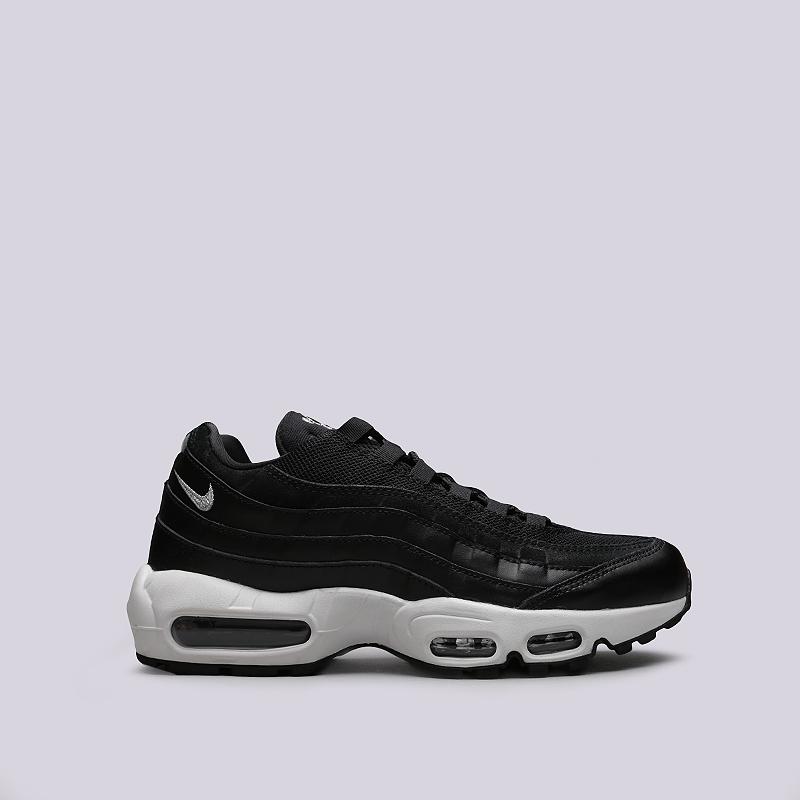 Кроссовки Nike Air Max 95 PRMКроссовки lifestyle<br>Кожа, текстиль, резина<br><br>Цвет: Черный<br>Размеры US: 8;8.5;10.5;11;12.5;15<br>Пол: Мужской