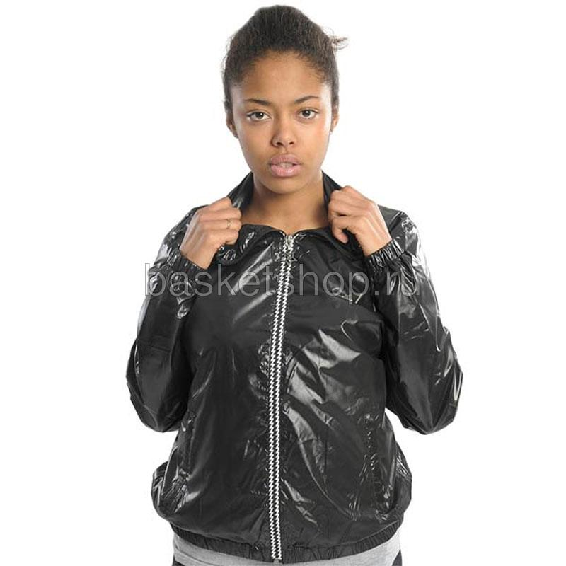 shorty weather girl jacketКуртки, пуховики<br>полиэстер<br><br>Цвет: черный<br>Размеры US: L<br>Пол: Женский
