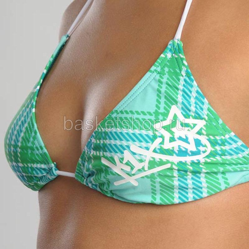 женский зеленый, белый  bootylicious bikini 6700-0012/3903 - цена, описание, фото 3