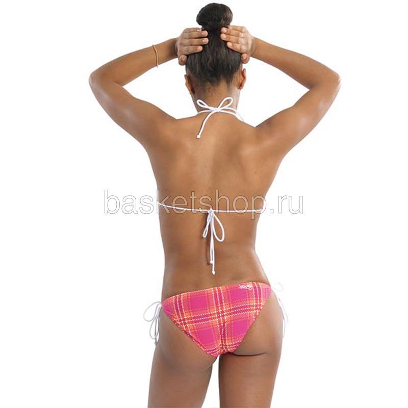 Купить женский розовый  bootylicious bikini в магазинах Streetball изображение - 2 картинки