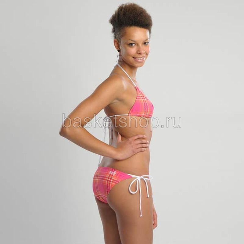 женский розовый, белый  bootylicious reversible bikini 6700-0013/6905 - цена, описание, фото 3