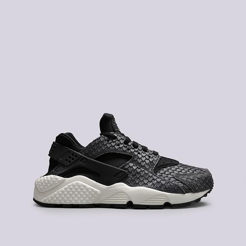Кроссовки Nike WMNS Air Huarache Run PRMКроссовки lifestyle<br>Кожа, текстиль, резина<br><br>Цвет: Черный<br>Размеры US: 6;6.5;7;7.5<br>Пол: Женский
