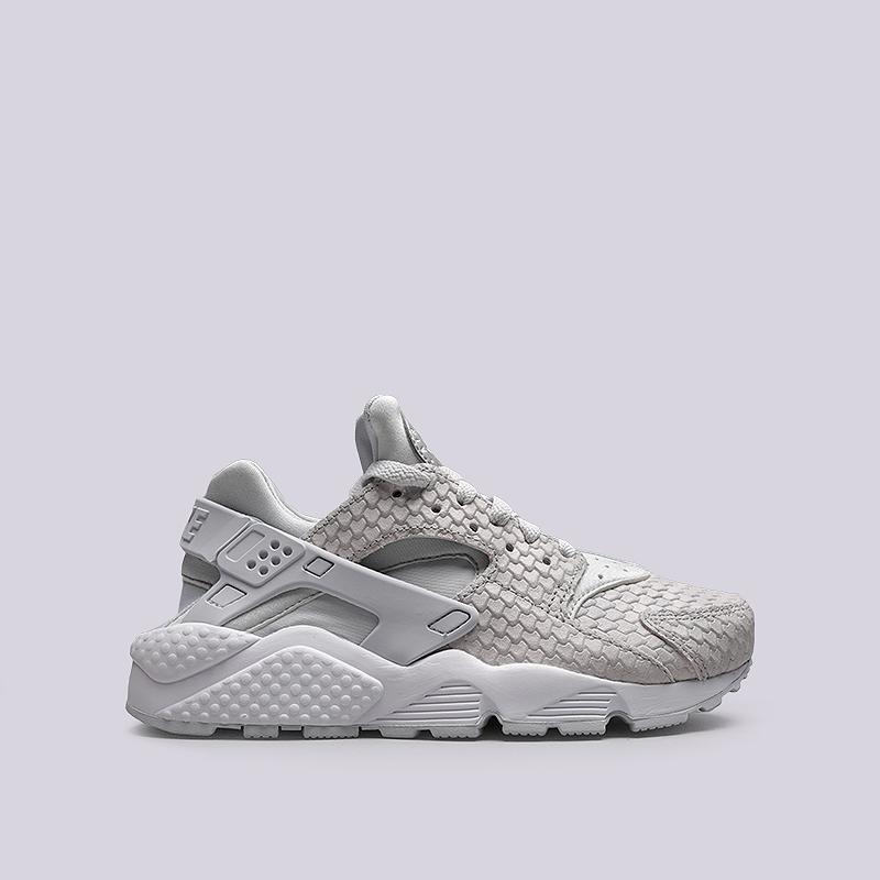 Кроссовки Nike WMNS Air Huarache Run PRMКроссовки lifestyle<br>Кожа, текстиль, резина<br><br>Цвет: Серый<br>Размеры US: 6;6.5;7;7.5;8;8.5;9<br>Пол: Женский