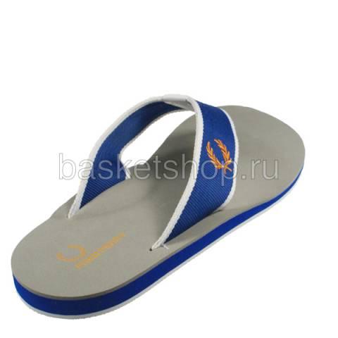 мужские серые, синие, белые  шлепки b7014-119 - цена, описание, фото 2
