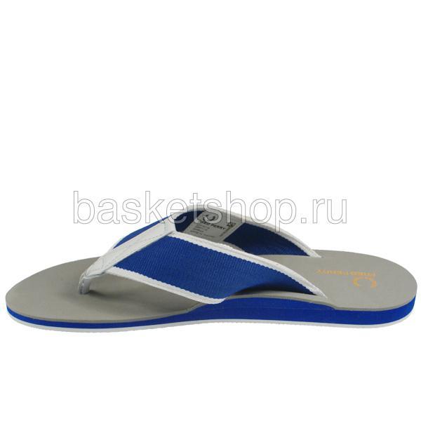 мужские серые, синие, белые  шлепки b7014-119 - цена, описание, фото 3