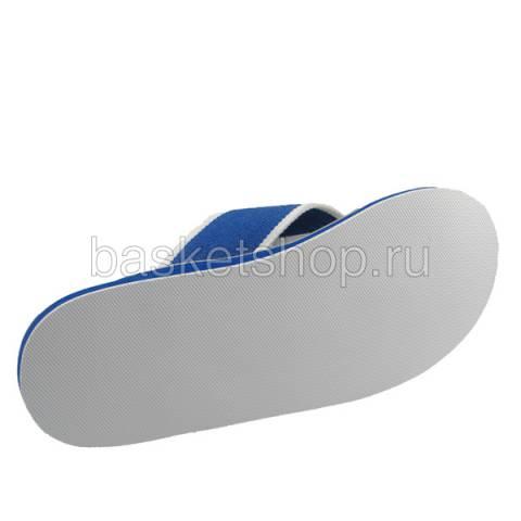 мужские серые, синие, белые  шлепки b7014-119 - цена, описание, фото 4