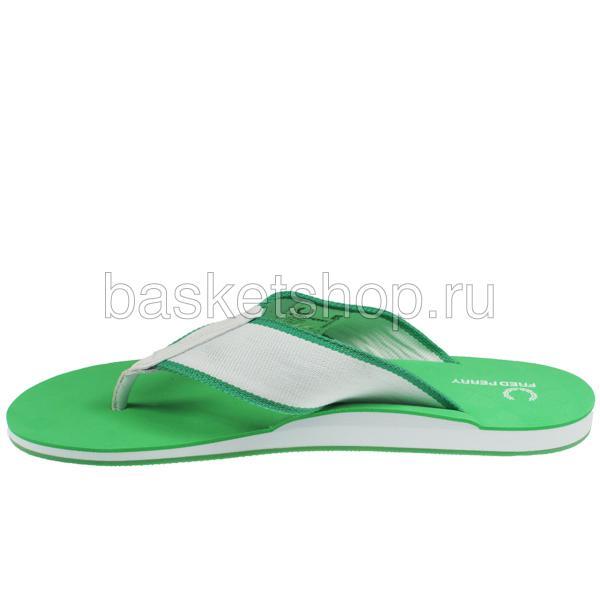 мужские зеленые, белые  шлепки b7014-824 - цена, описание, фото 2