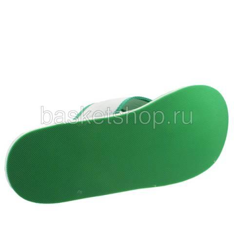 мужские зеленые, белые  шлепки b7014-824 - цена, описание, фото 4