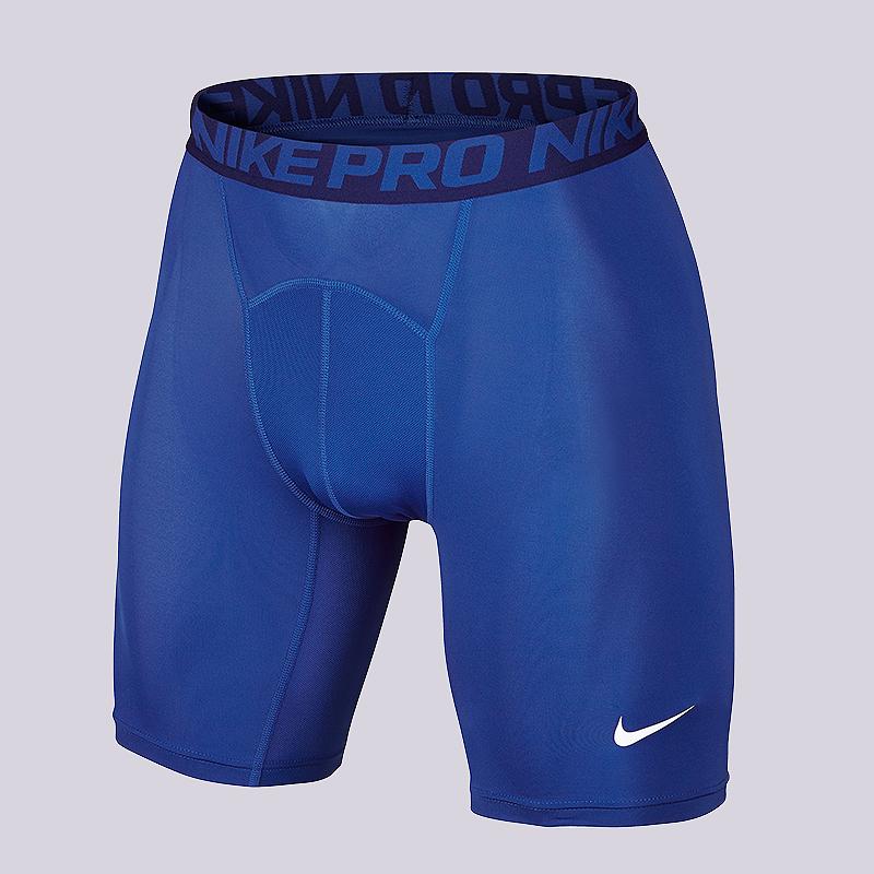 Шорты Nike Cool Comp 6Компрессионное белье<br>90% полиэстер, 10% эластан<br><br>Цвет: Синий<br>Размеры US: S;M;L;XL;2XL<br>Пол: Мужской