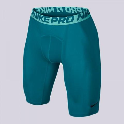 Купить мужские голубые  шорты nike pro 9 training shorts в магазинах Streetball - изображение 1 картинки