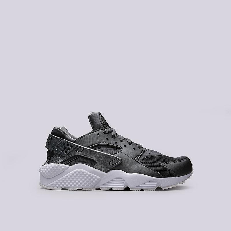Кроссовки Nike Air Huarache Run PRMКроссовки lifestyle<br>Текстиль, синтетика, резина, пластик<br><br>Цвет: Серый<br>Размеры US: 8;8.5;10;10.5;11;11.5;12;12.5<br>Пол: Мужской