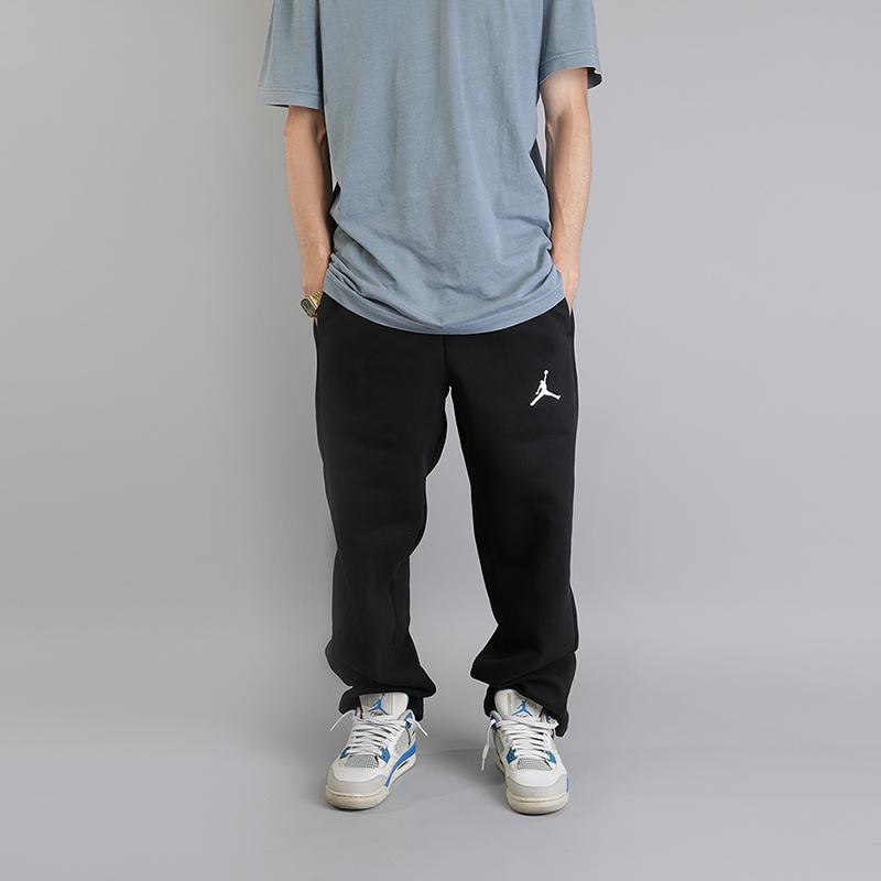 Брюки Jordan Flight  Basketball PantsБрюки и джинсы<br>80% хлопок, 20% полиэстер<br><br>Цвет: Черный<br>Размеры US: S;M<br>Пол: Мужской