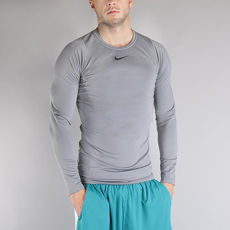 Лонгслив Nike M NP WM TOP LS COMPКомпрессионное белье<br>Полиэстер, эластан<br><br>Цвет: Серый<br>Размеры US: S;M;L;XL;2XL<br>Пол: Мужской