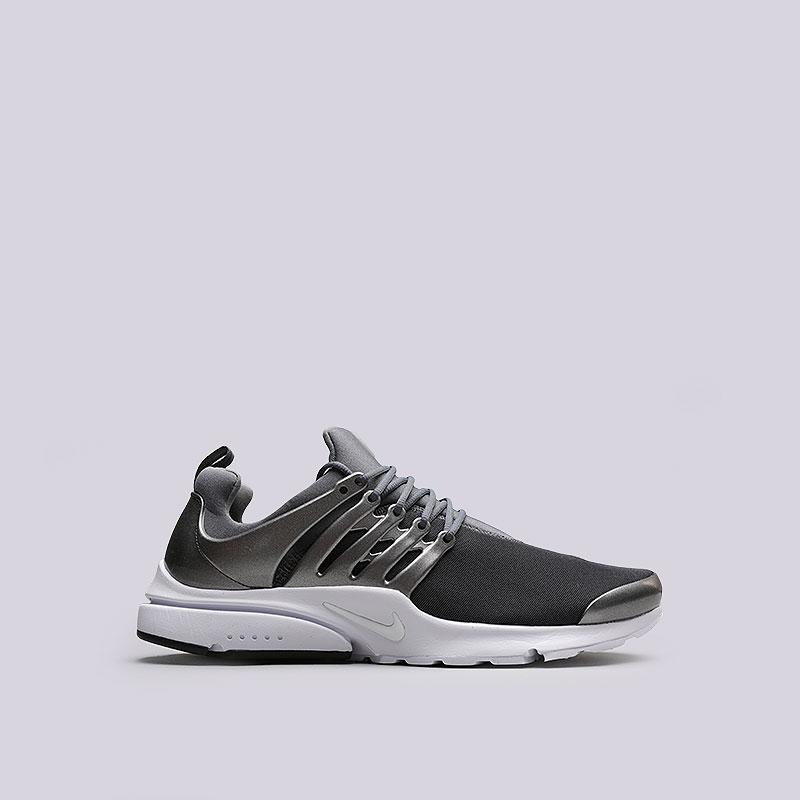Кроссовки Nike Air Presto PremiumКроссовки lifestyle<br>Текстиль, пластик, резина<br><br>Цвет: Черный<br>Размеры US: 7;8;9;13<br>Пол: Мужской