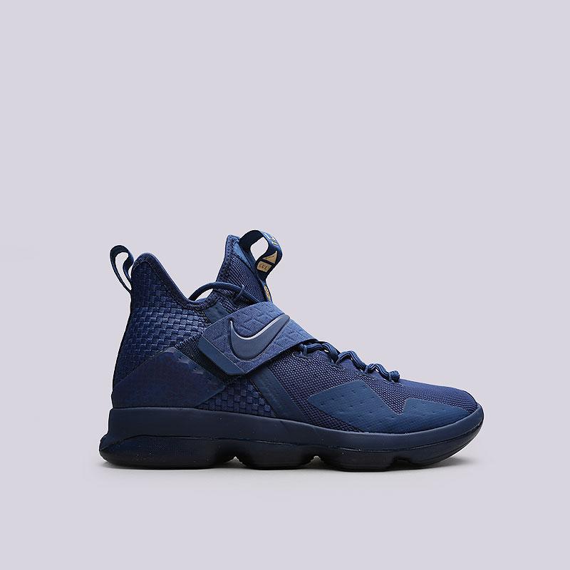 Кроссовки Nike Lebron XIV LMTDКроссовки баскетбольные<br>Текстиль, кожа, пластик, резина<br><br>Цвет: Синий<br>Размеры US: 8;8.5;9.5;10;10.5<br>Пол: Мужской