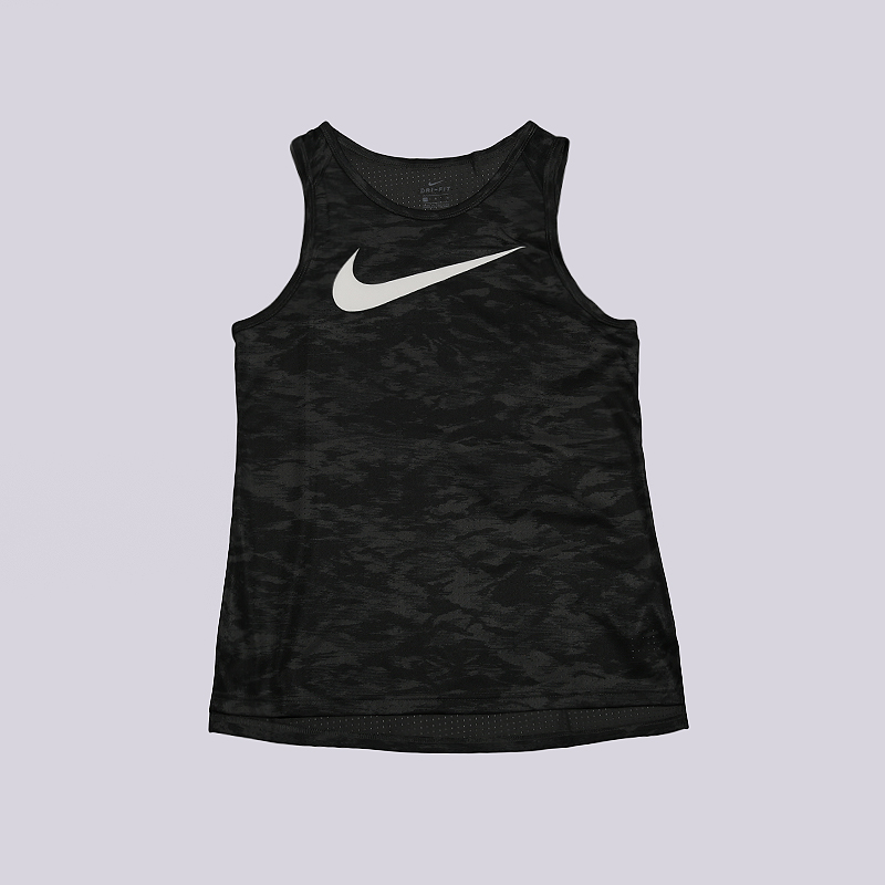 Майка Nike Dry Elite Womens Basketball TankБезрукавки<br>100% полиэстер<br><br>Цвет: Черный<br>Размеры US: XS;S;M;L<br>Пол: Женский