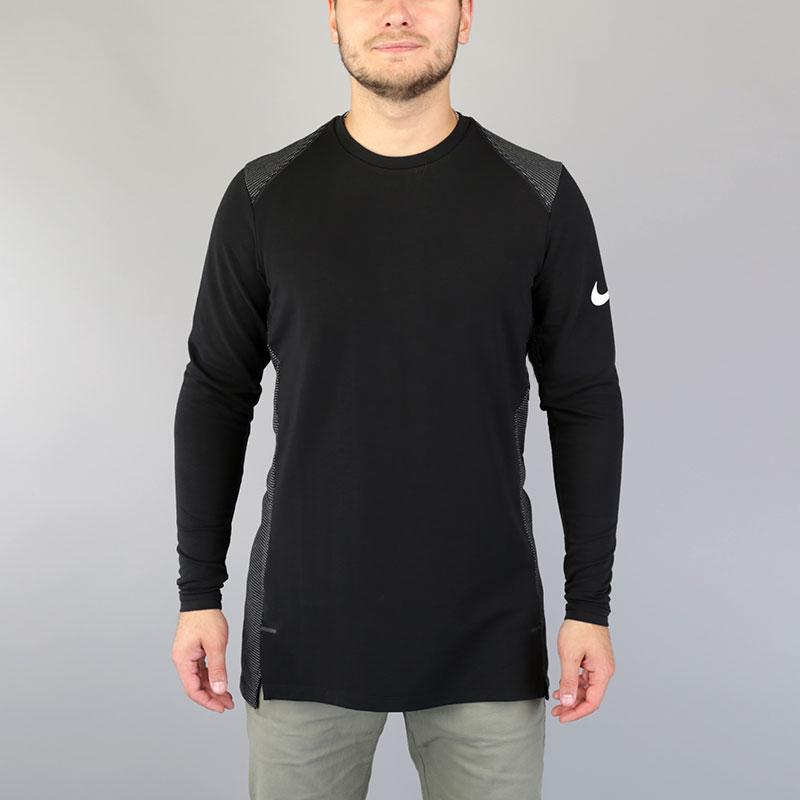 Лонгслив Nike Dry Hyper Elite Mens Long-Sleeve Basketball TopФутболки<br>Вискоза, полиэстер, эластан<br><br>Цвет: Черный<br>Размеры US: S;M;L;XL;2XL<br>Пол: Мужской