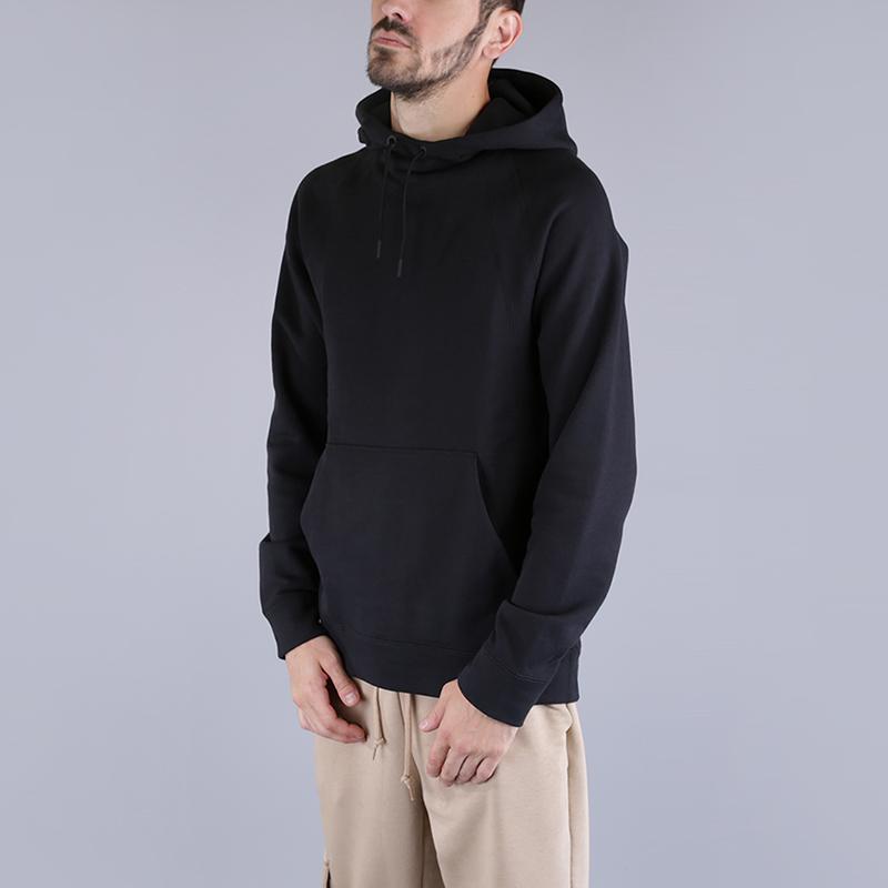 Толстовка Jordan Wings Fleece HoodieТолстовки свитера<br>73% хлопок, 18% вискоза, 9% полиэстер<br><br>Цвет: Черный<br>Размеры US: S;M;L;XL;2XL<br>Пол: Мужской