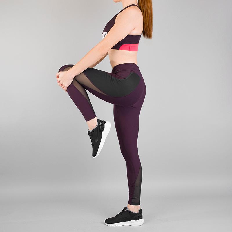 Тайтсы Nike Power LegendБрюки и джинсы<br>Полиэстер, эластан<br><br>Цвет: Бордовый<br>Размеры US: S;M;L<br>Пол: Женский