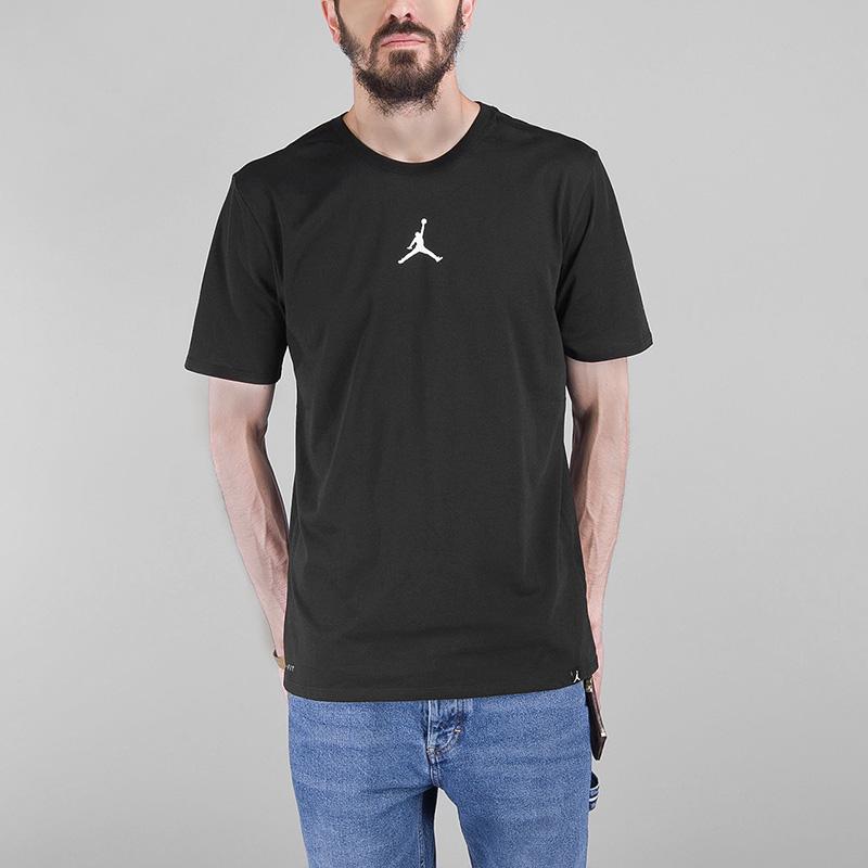 Футболка Jordan DRY FUTURE 1Футболки<br>Хлопок, полиэстер<br><br>Цвет: Черный<br>Размеры US: S;M;L;XL<br>Пол: Мужской
