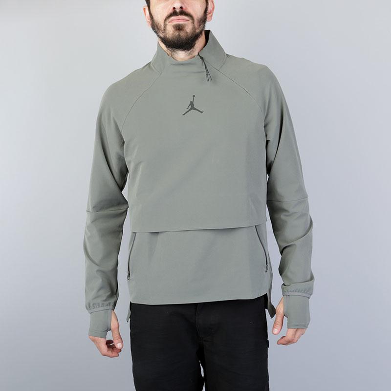 Толстовка Jordan 23 Tech Shield JacketТолстовки свитера<br>Полиэстер, эластан<br><br>Цвет: Оливковый<br>Размеры US: S;M;L;XL;2XL<br>Пол: Мужской