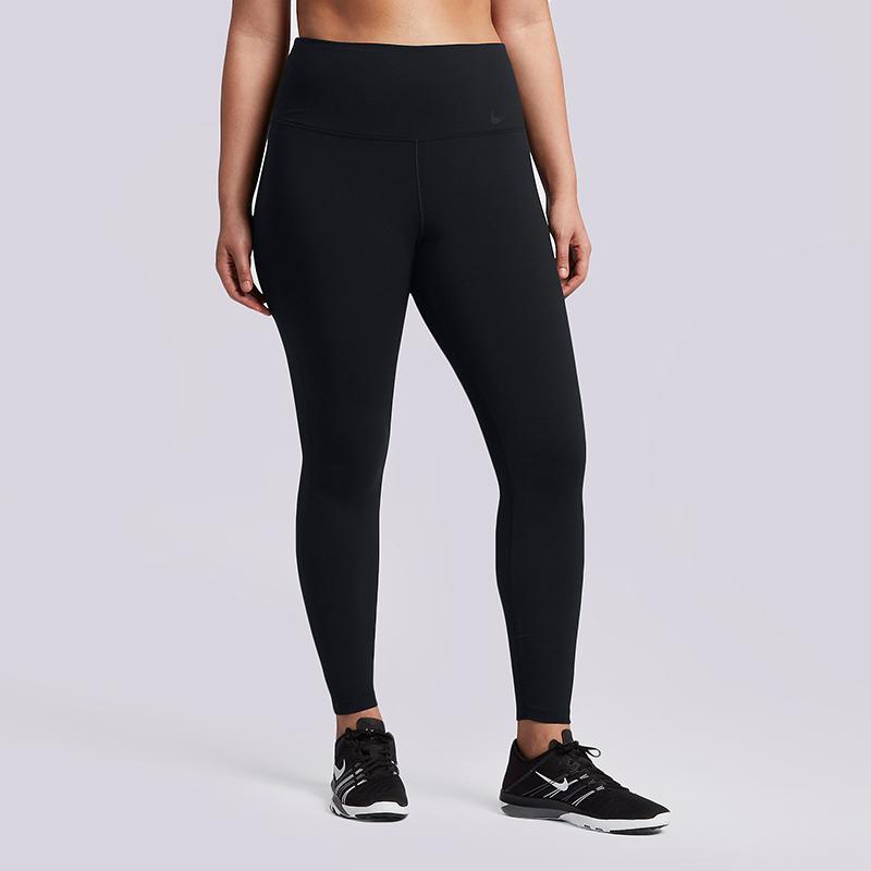 Тайтсы Nike Power Legendary Plus Size High-Rise  Training TightsБрюки и джинсы<br>80% нейлон, 20% эластан<br><br>Цвет: Черный<br>Размеры US: 1X;2X;3X<br>Пол: Женский
