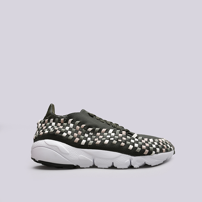 Кроссовки Nike Air Footscape Woven NMКроссовки lifestyle<br>Текстиль, синтетик, резина, пластик<br><br>Цвет: Зеленый<br>Размеры US: 8;8.5;9;9.5;10;10.5;11;11.5;12<br>Пол: Мужской