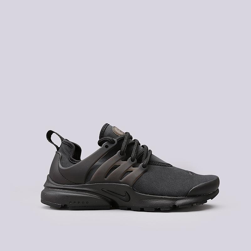 Кроссовки Nike Sportswear WMNS Air Presto PRMКроссовки lifestyle<br>Текстиль, резина, пластик<br><br>Цвет: Черный<br>Размеры US: 6;7;8;9<br>Пол: Женский