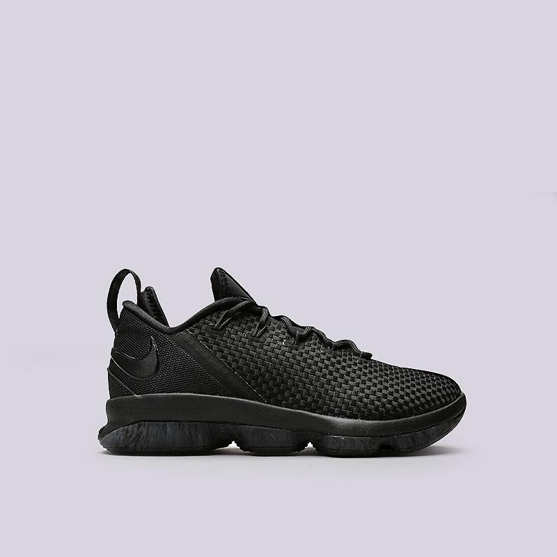 Кроссовки Nike Lebron XIV LowКроссовки баскетбольные<br>Текстиль, пластик, резина<br><br>Цвет: Черный<br>Размеры US: 10.5;11;11.5;13;8;8.5;9;9.5<br>Пол: Мужской