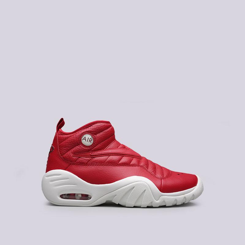 Кроссовки Nike Sportswear Air Shake NDestruktКроссовки баскетбольные<br>Кожа, синтетика, текстиль, резина<br><br>Цвет: Красный<br>Размеры US: 8;8.5;9;9.5;10;10.5;11.5;12<br>Пол: Мужской