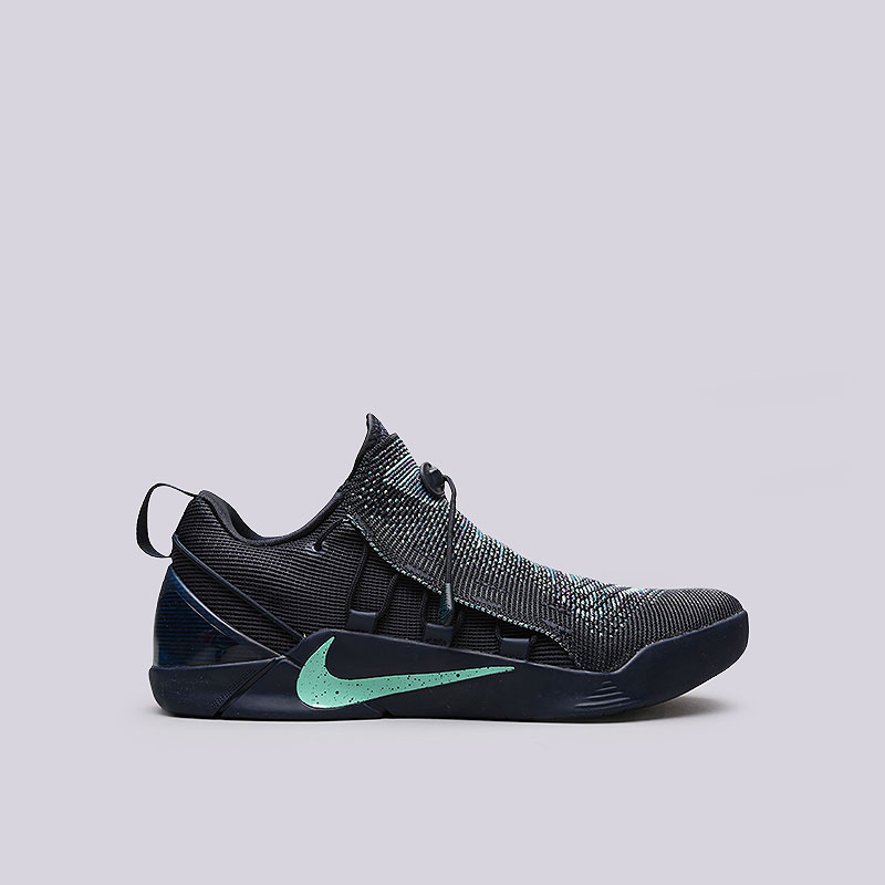 Кроссовки Nike Kobe A.D. NXTКроссовки баскетбольные<br>Текстиль, пластик, резина<br><br>Цвет: Синий<br>Размеры US: 9.5;10.5;11<br>Пол: Мужской