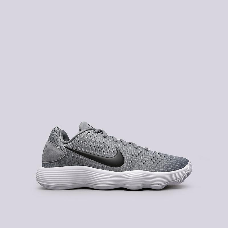 Кроссовки Nike Hyperdunk 2017 LowКроссовки баскетбольные<br>Текстиль, пластик, резина<br><br>Цвет: Серый<br>Размеры US: 7.5;8;8.5;9;9.5;10;11;11.5;12;12.5;13;14<br>Пол: Мужской